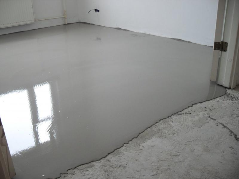 Samonivelační beton